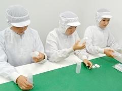 茨木市藤の里/化粧品の容器の検査等/土日祝休み