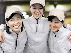 上越市東本町/女性も活躍中!アルミ材料の機械加工など