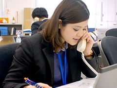 郡山市下亀田/電話対応・データ入力/土日祝休み