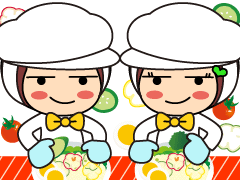 札幌市手稲区西宮の沢/お惣菜の盛り付け/週3