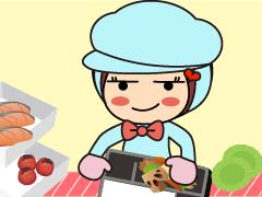 笠岡市みの越/お弁当の仕分け/週4~