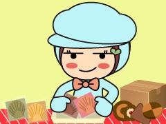 堺市堺区協和町/お菓子の包装作業/土日祝休み