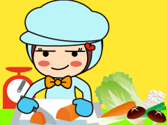 府中市住吉町/野菜の盛り付け・加工/週3~